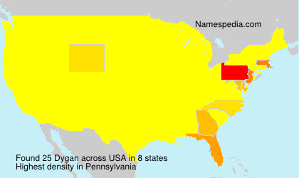 Surname Dygan in USA