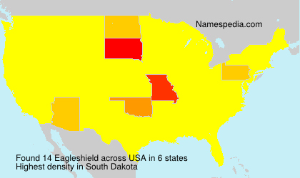 Surname Eagleshield in USA