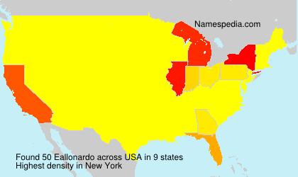 Surname Eallonardo in USA