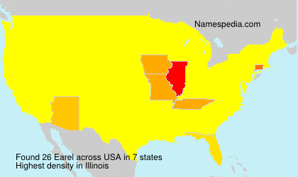 Surname Earel in USA