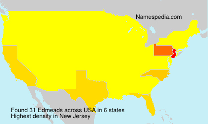Surname Edmeads in USA