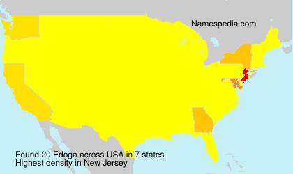 Surname Edoga in USA