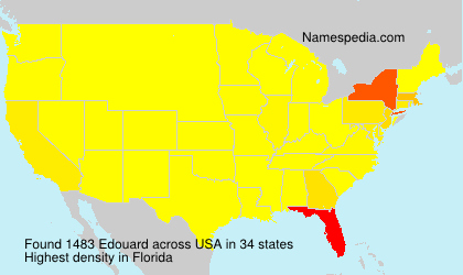 Surname Edouard in USA