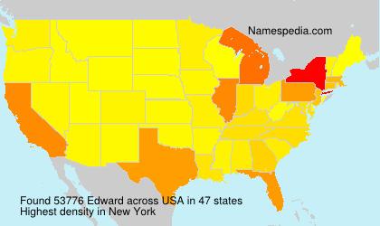 Surname Edward in USA