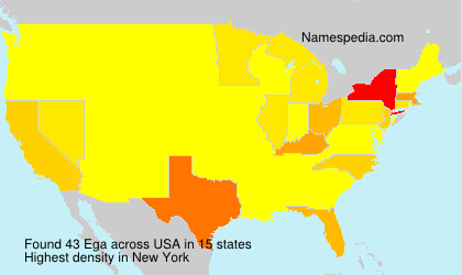 Surname Ega in USA