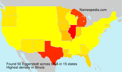 Surname Eggerstedt in USA