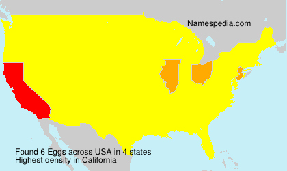 Surname Eggs in USA