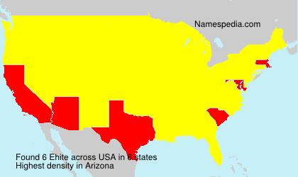 Ehite - USA