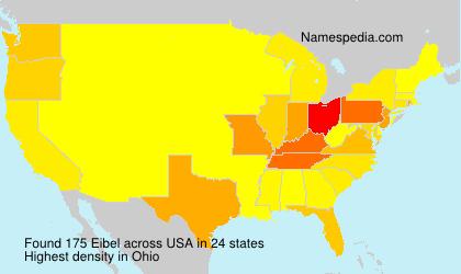 Surname Eibel in USA