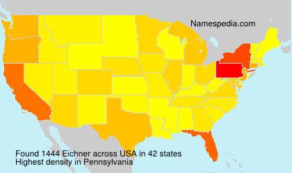 Surname Eichner in USA