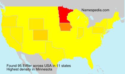 Surname Eiffler in USA