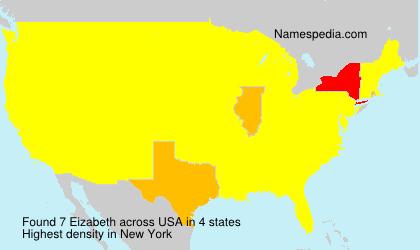 Surname Eizabeth in USA