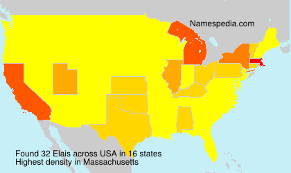 Surname Elais in USA