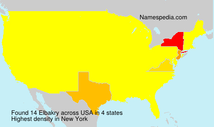 Surname Elbakry in USA