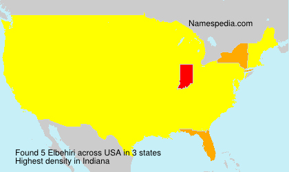 Surname Elbehiri in USA