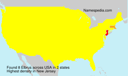 Surname Elbrus in USA