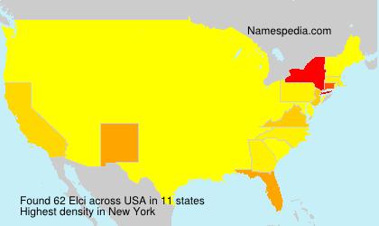 Familiennamen Elci - USA