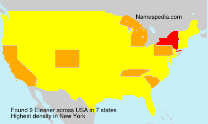 Surname Eleaner in USA