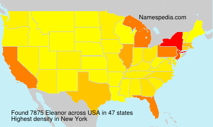 Surname Eleanor in USA