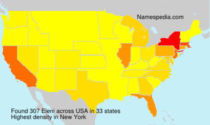 Surname Eleni in USA