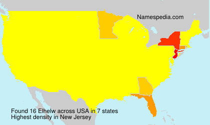 Familiennamen Elhelw - USA