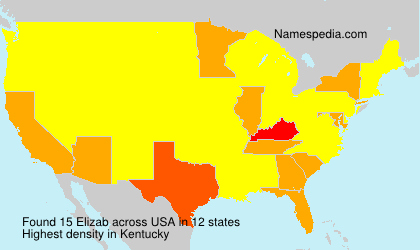 Surname Elizab in USA