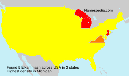 Surname Elkammash in USA