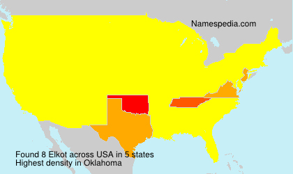 Surname Elkot in USA