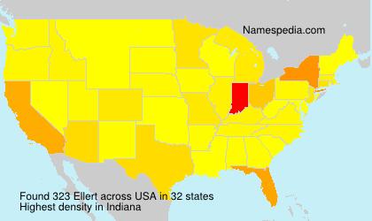 Surname Ellert in USA