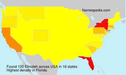 Familiennamen Elmaleh - USA
