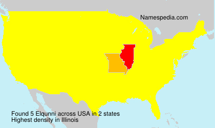 Surname Elqunni in USA