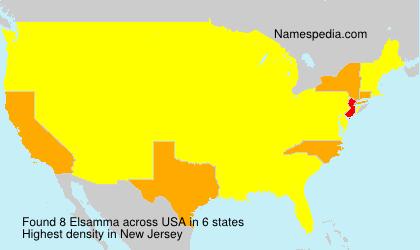 Surname Elsamma in USA