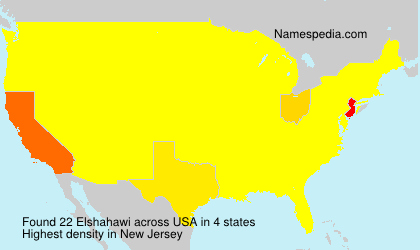 Surname Elshahawi in USA