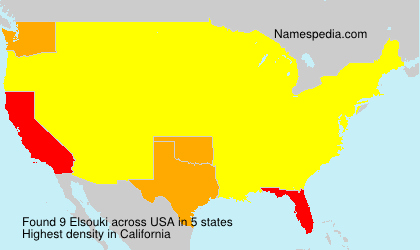 Surname Elsouki in USA