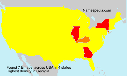 Surname Emauel in USA