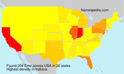 Surname Eme in USA