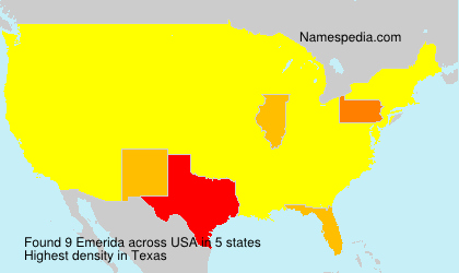 Surname Emerida in USA