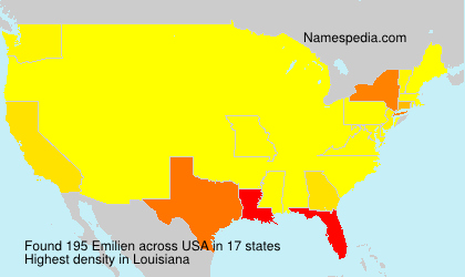 Surname Emilien in USA