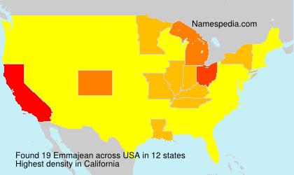 Surname Emmajean in USA