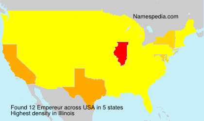Surname Empereur in USA