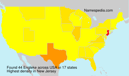 Surname Engleke in USA
