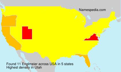 Surname Englmeier in USA
