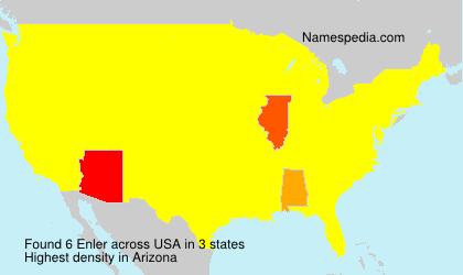 Surname Enler in USA