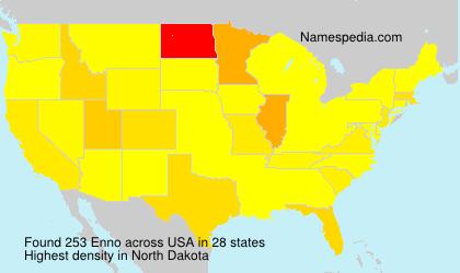 Surname Enno in USA