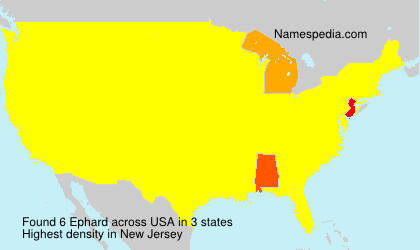 Surname Ephard in USA