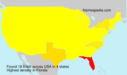 Erbiti - USA