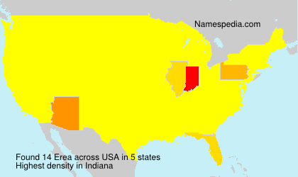Surname Erea in USA