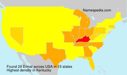 Surname Ermal in USA