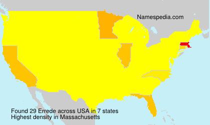 Errede - USA