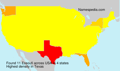 Surname Essoufi in USA